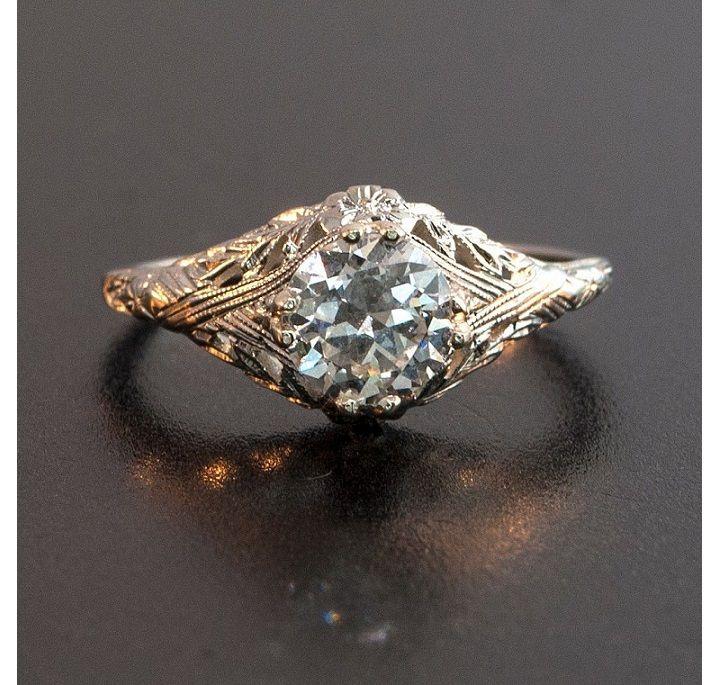 Antique Engagement Rings Edwardian 34 | Stupid Wedding Shit ...