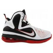 Cheap Lebron James 9 Scarface White White Black Sport Red 469764 100