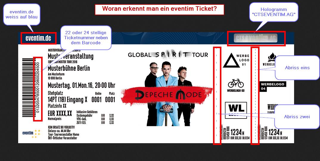 Woran Erkennt Man Gefalschte Eventim Tickets Ticket Eventim Tickets Eventim