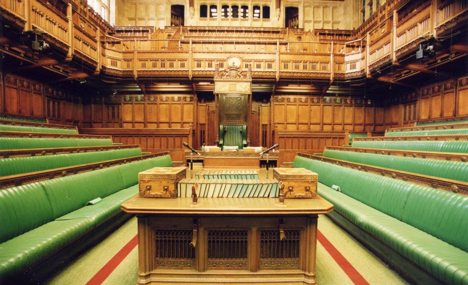 House of Commons, London Parliament. | Interior Spaces | Pinterest ...