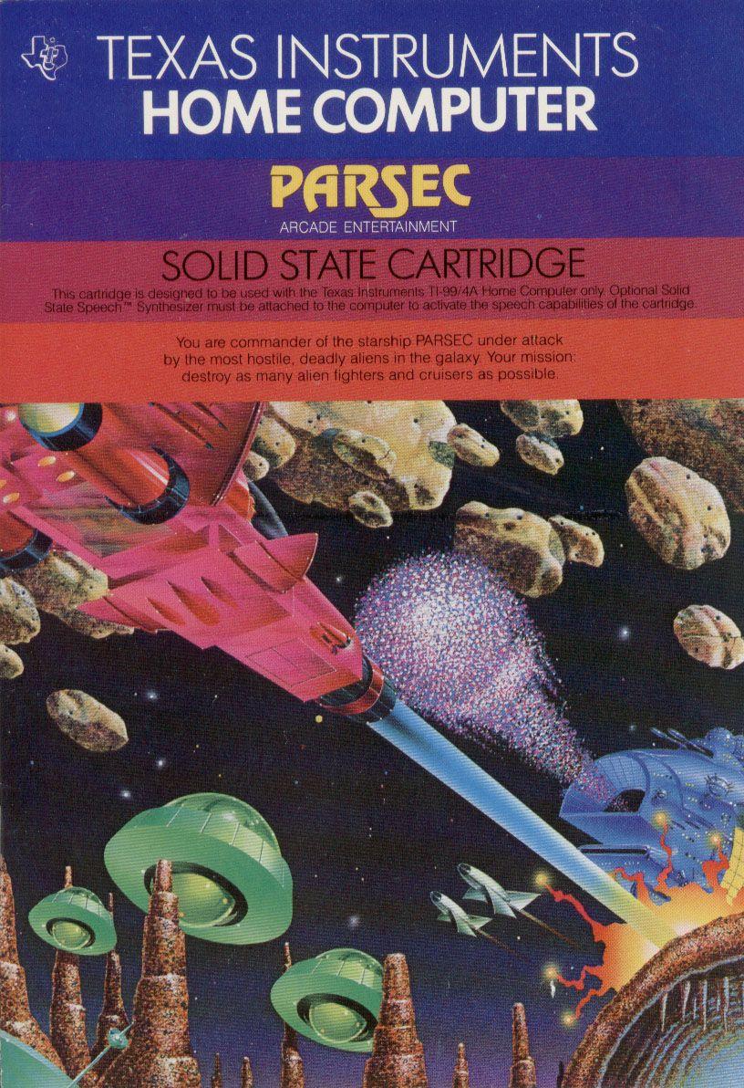 Parsec for the TI99/4A Classic video games, Retro