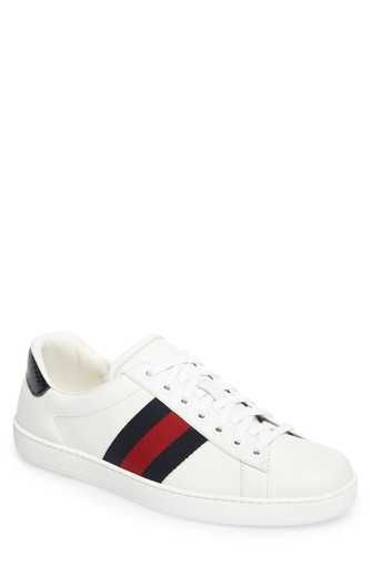 1ce79f709dd9 Gucci New Ace Clean Sneaker (Men)