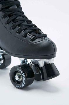 Rookie Classic Roller Skates in Black Urban