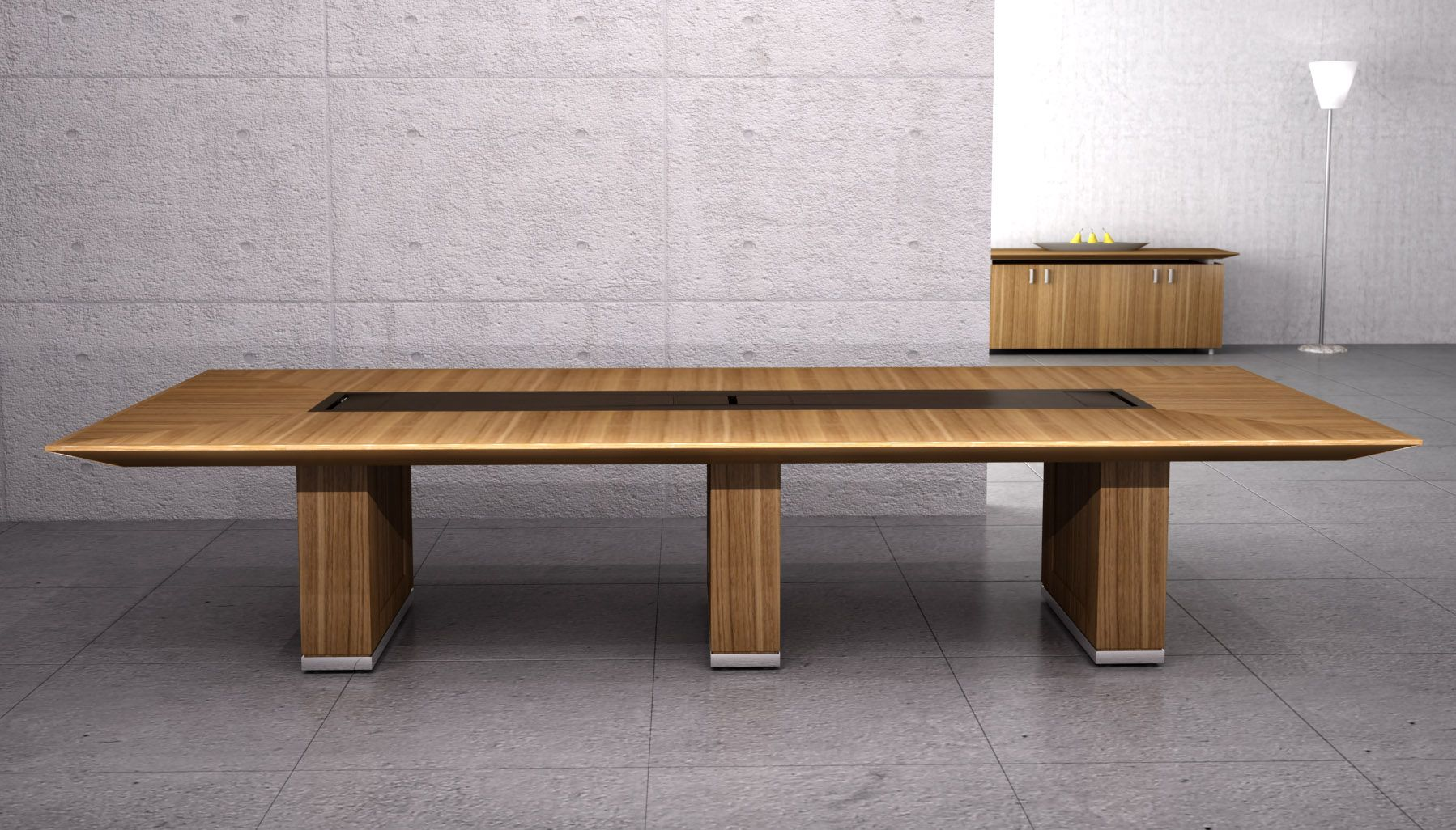 Modern wood table design - Various Awesome Conference Table Design Cool Bench Style Low Profile Modern Wooden Conference Table Design