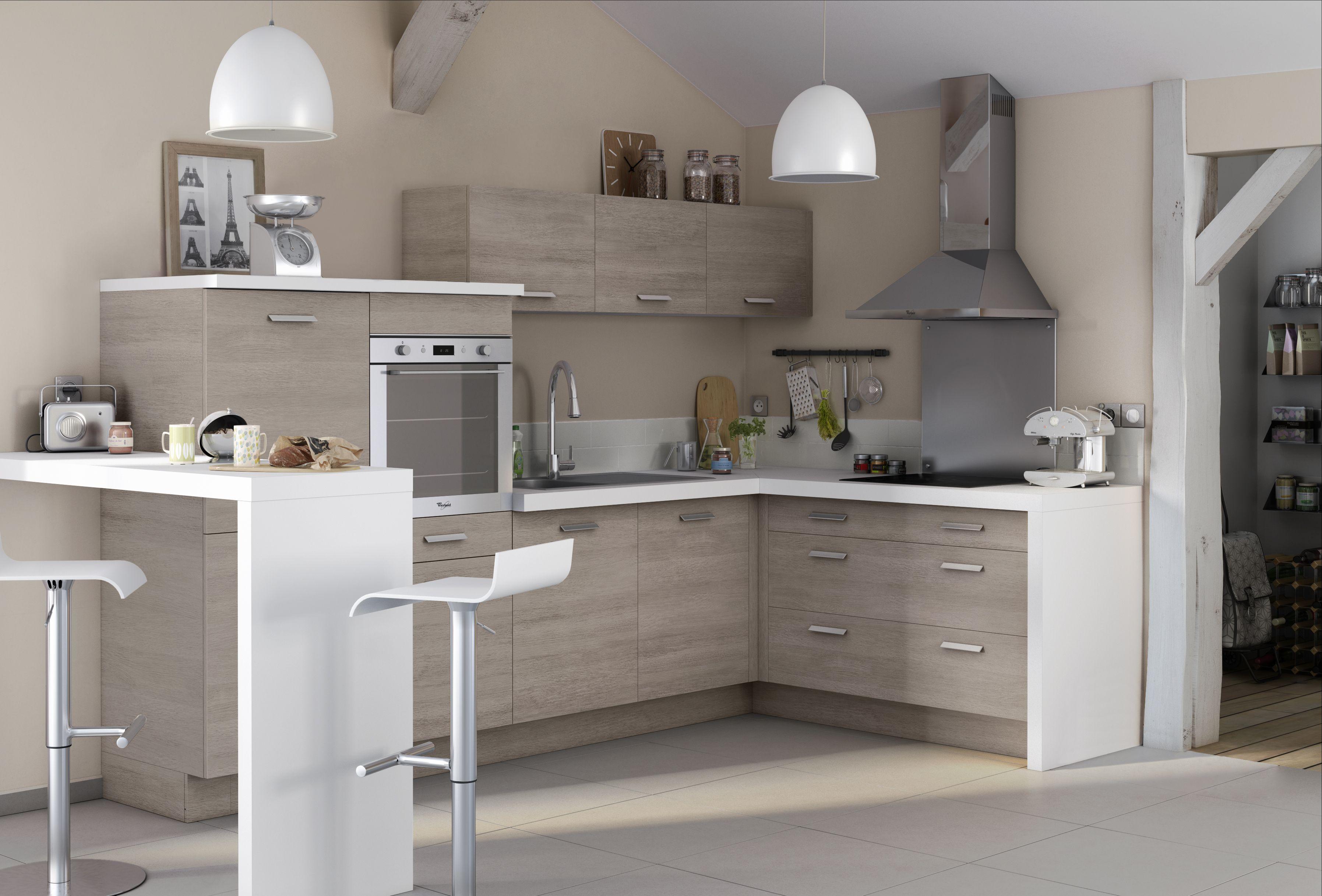 Les 20 photos que vous pr f rez sur pinterest home kitchen pinterest petite cuisine - Petite cuisine moderne ...