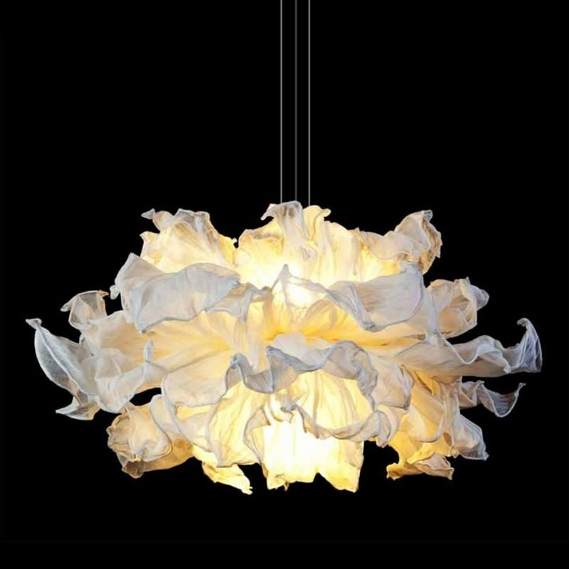 Own a small fandango hanging lamp from danny fang the elegant fandango lamp will be sure to add a note of panache to any room in your home
