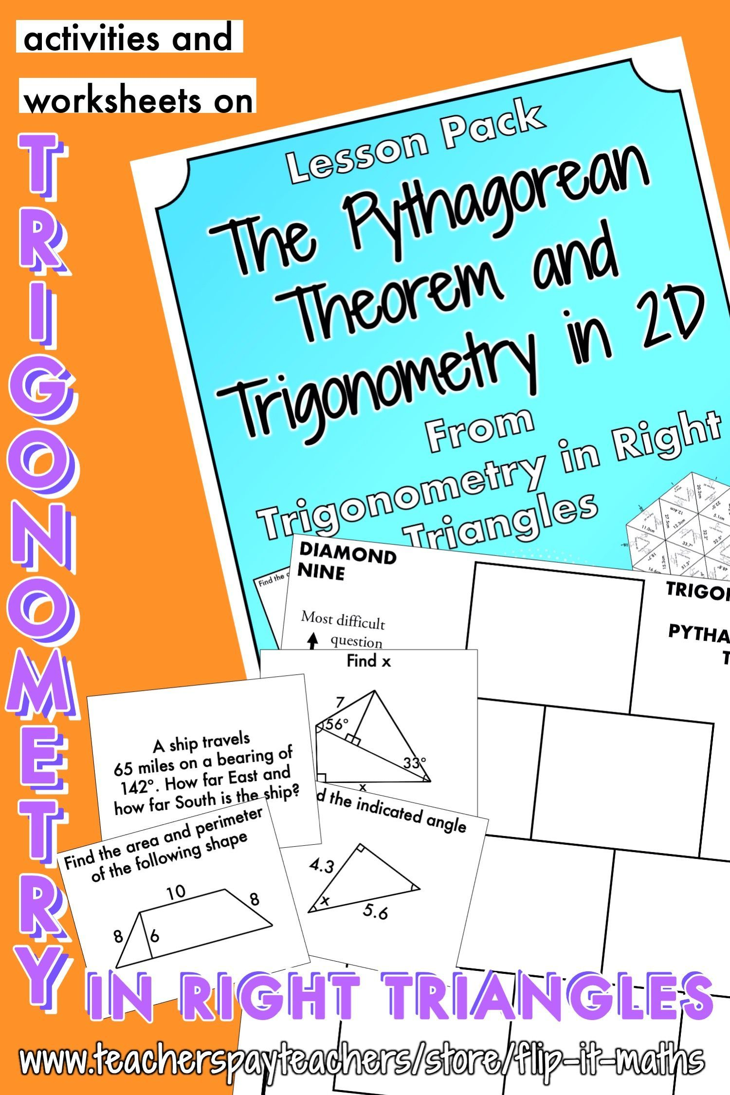 The Pythagorean Theorem And Trigonometry In 2d