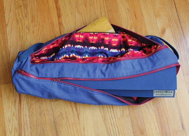 0e6fc6d65149 Double Pocket Zippered Yoga Mat Bag inspired by I AM. More info on the blog