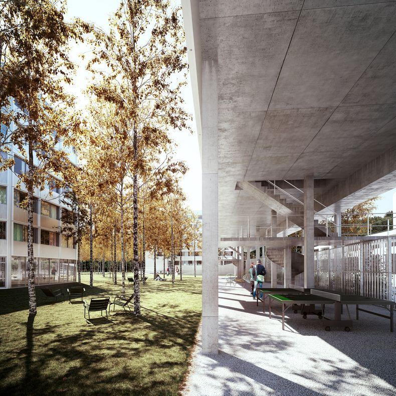 University Of Amsterdam Dorms: Student Residence, 265 Student Housing Units