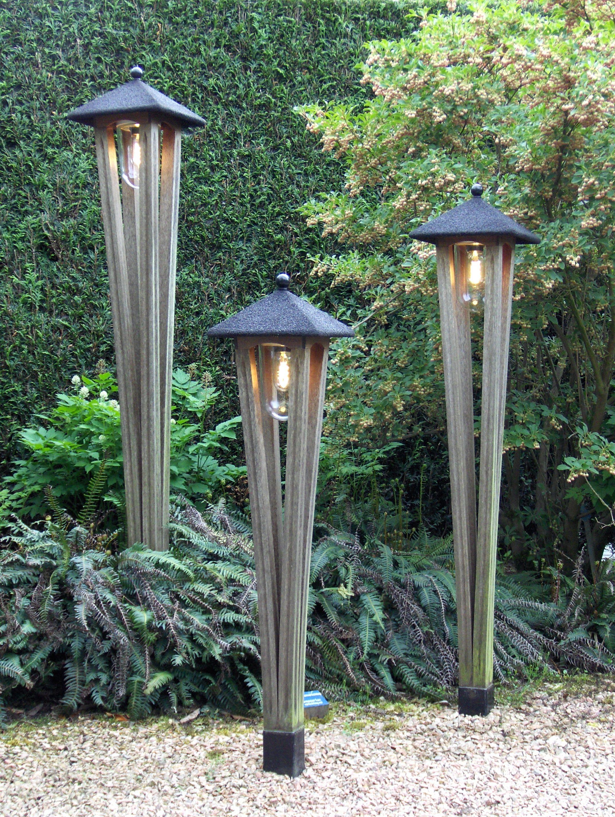toffe verlichting in de tuin gezien in de voorbeeld tuinen van ...