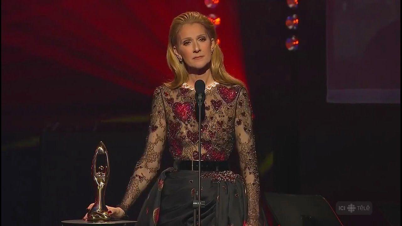 Céline Dion Pays Tribute to René Angélil at ADISQ Gala
