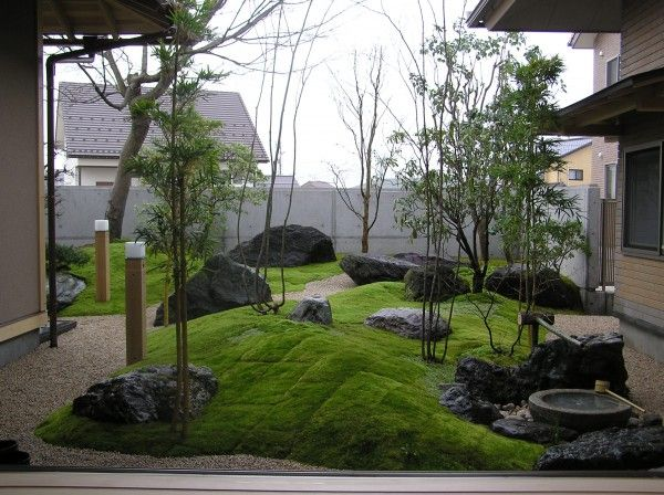 Garden and pinterest jardines for Jardines japoneses pequenos