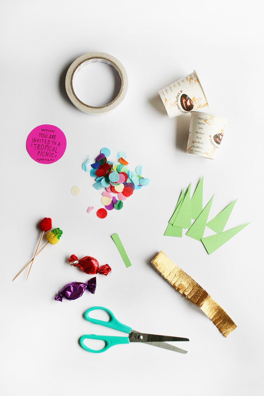 DIY Pineapple Party Invitation | Oh Happy Day Invitación superoriginal de cumpleaños #ideas #cumpleaños #birthday #DIY #invitaciones