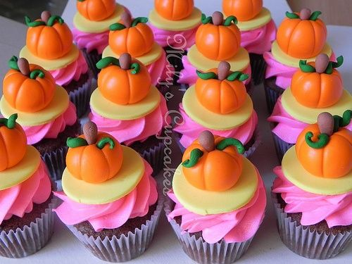 pumpkin themed cupcakes Cinderella pumpkin cupcakes CinderElla
