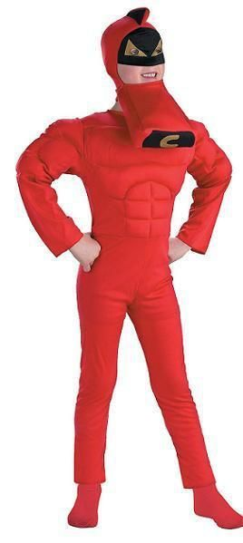 Boys Crimson Chin Muscle Costume (With images) | Optimus ...