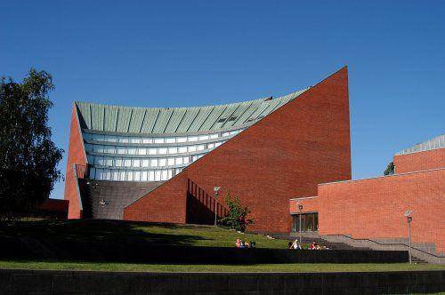 Alvar Aalto, University of Technology, Otaniemi, Finland | Pinterest | Alvar aalto, Architecture ...