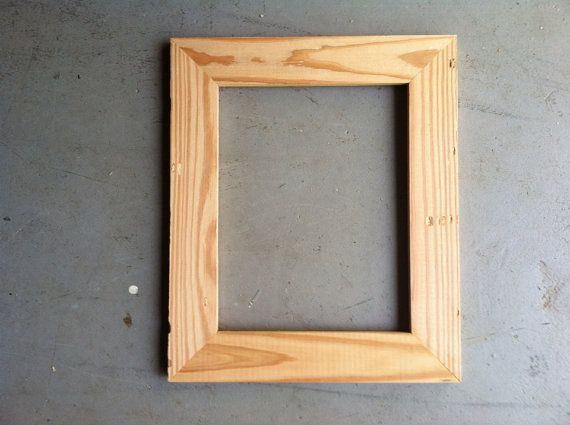 85x11 Pine Wood Picture Frame Picture Frames Pinterest Wood