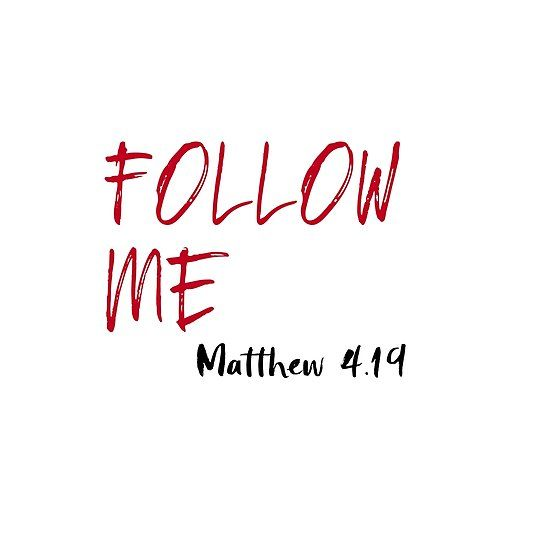 Red letter jesus bible verse follow me bibleverseshirt red letter jesus bible verse follow me bibleverseshirt christian jesus negle Images