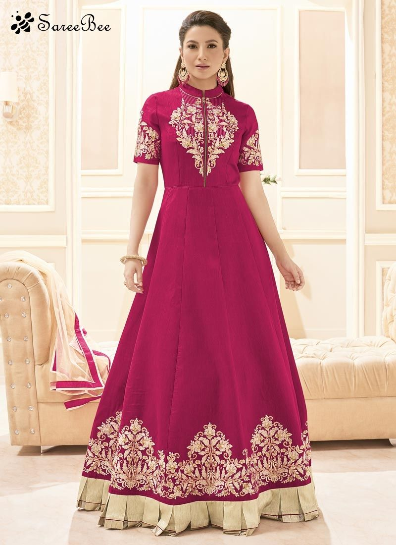 Add a vibrant burst of colour to a wardrobe with this Gauhar Khan