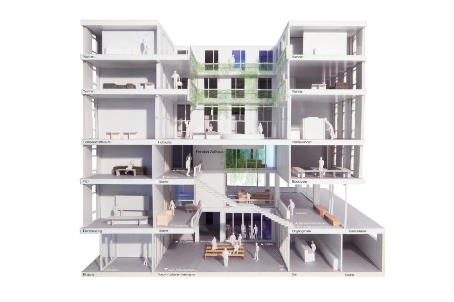 Best Neue Kalkbreite Z rich M ller Sigrist Housing Pinterest Z rich und Neuer