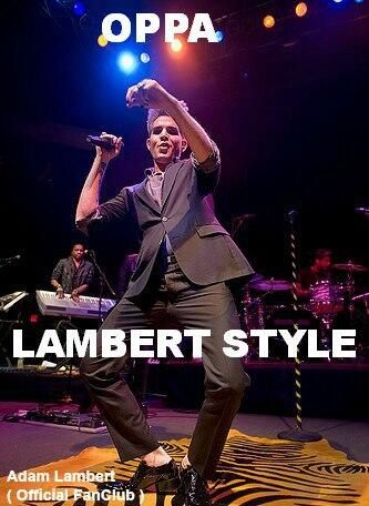 And that is how Adam Lambert does it...