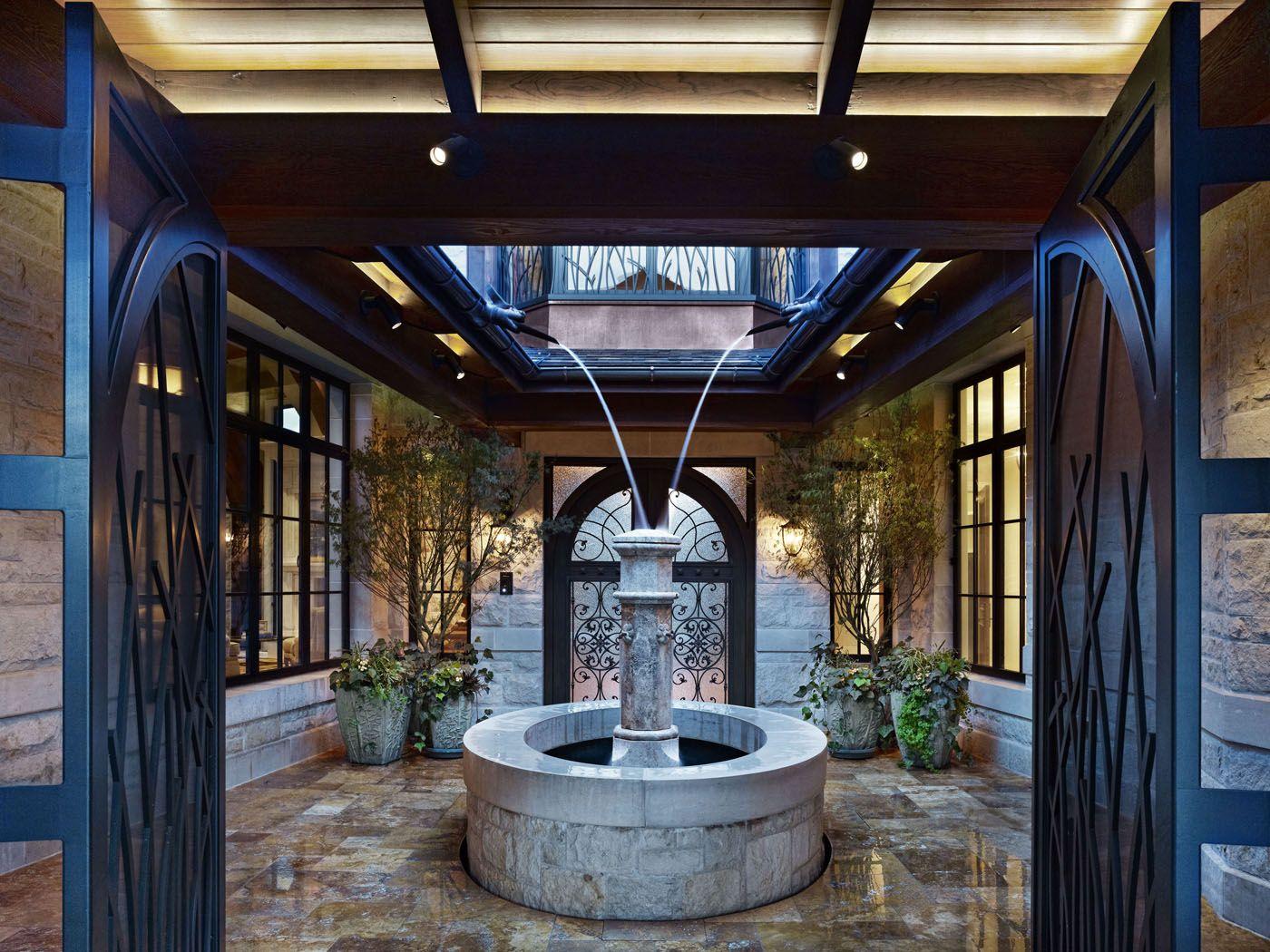Crescent House Impluvium - Clutch Design Studio | Indoor ... on Front Range Outdoor Living id=61615