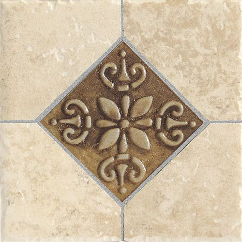 Kitchen Del Conca X Roman Stone Beige Thru Body Porcelain - 6x6 accent tiles