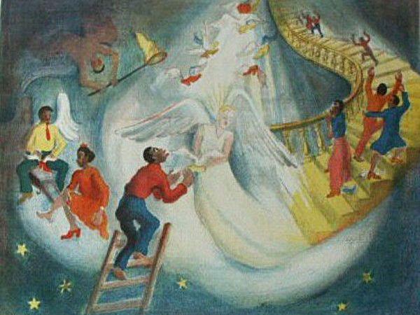 O, Dem Golden Slippers, circa 1947, by Ruth Starr Rose. Photo from sacredartpilgrim.com.
