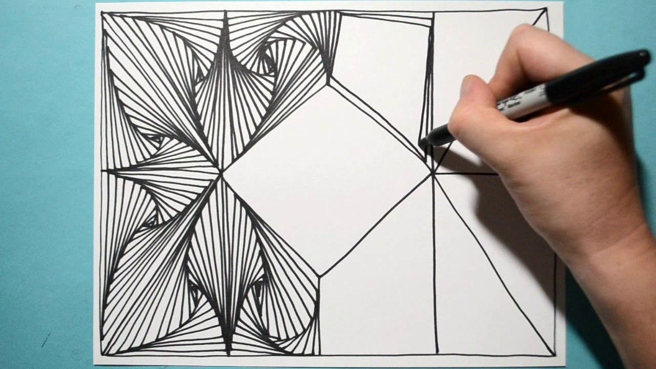 Most Satisfying Amazing Drawing Pattern Daily Art Therapy