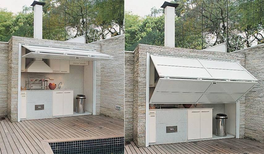 Idée Cuisine Extérieure | Patios, Smart House And Deck Patio