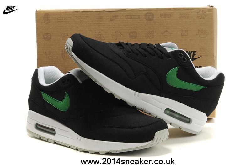 online retailer 982cc b10e8 Nike Air Max 87 Men Shoes Black Green