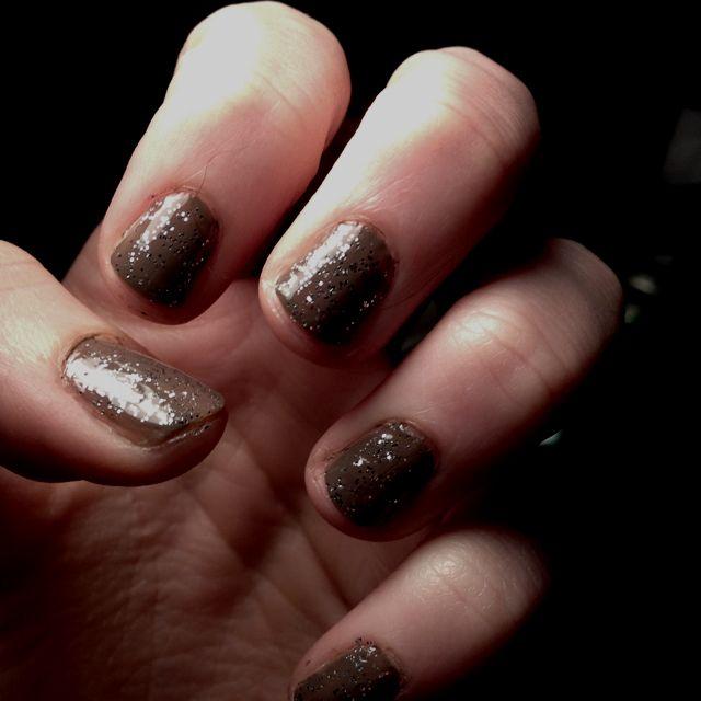 Silver sparkles!