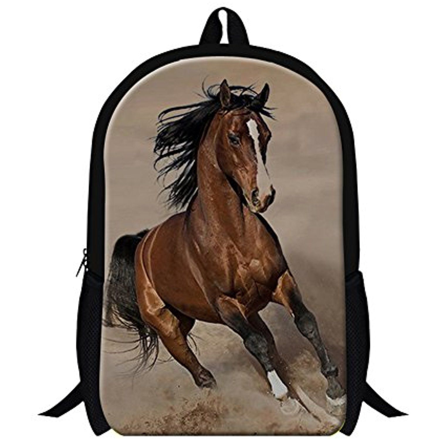 980d5d9c25 Generic Plush Horse Backpacks for Mens Kids Fashion Bookbags   Visit the  image link more details. (This is an affiliate link)   KidsFurnitureDcorStorage