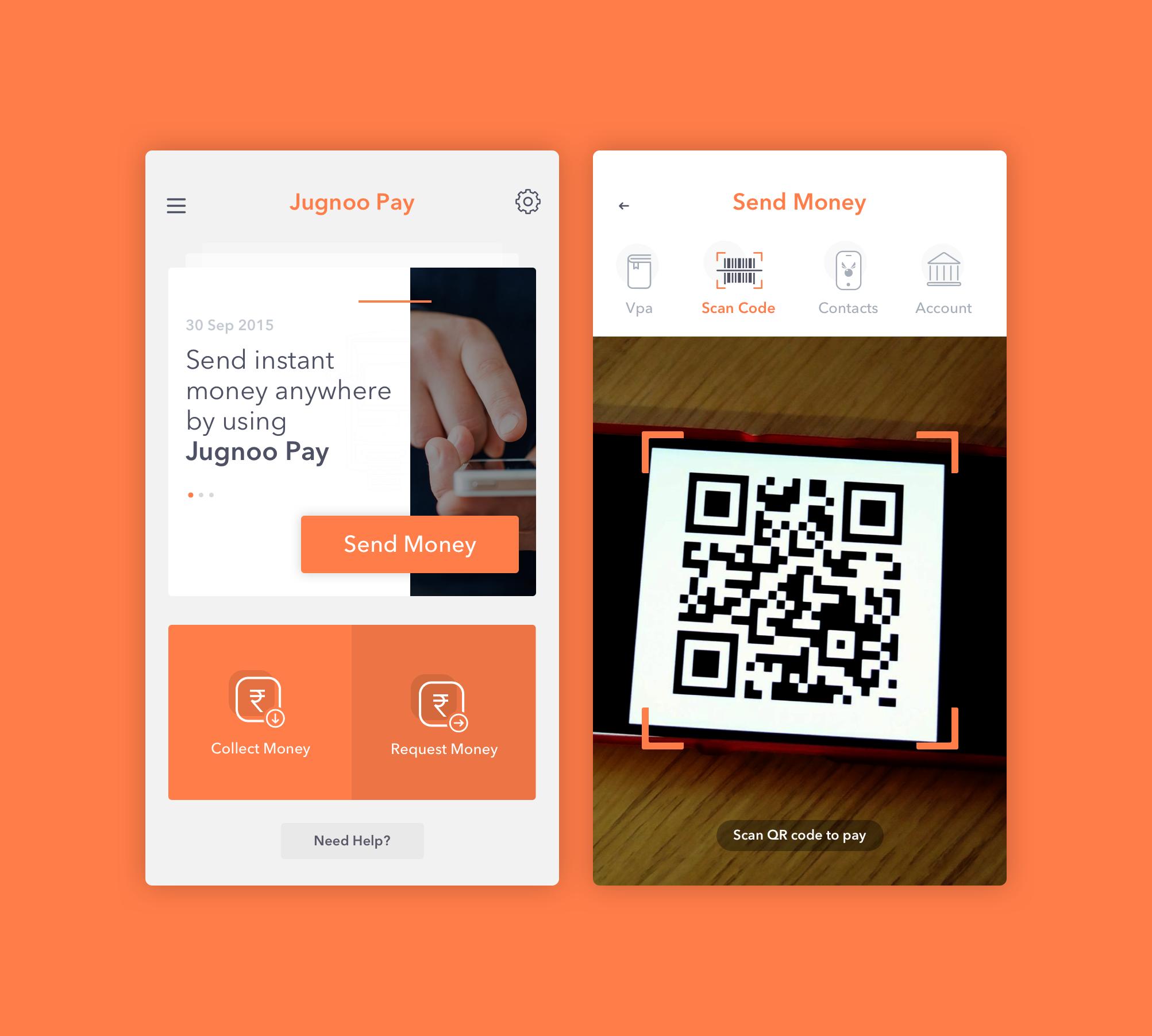 Jugnoo Pay App Design. App design, App, Instant money