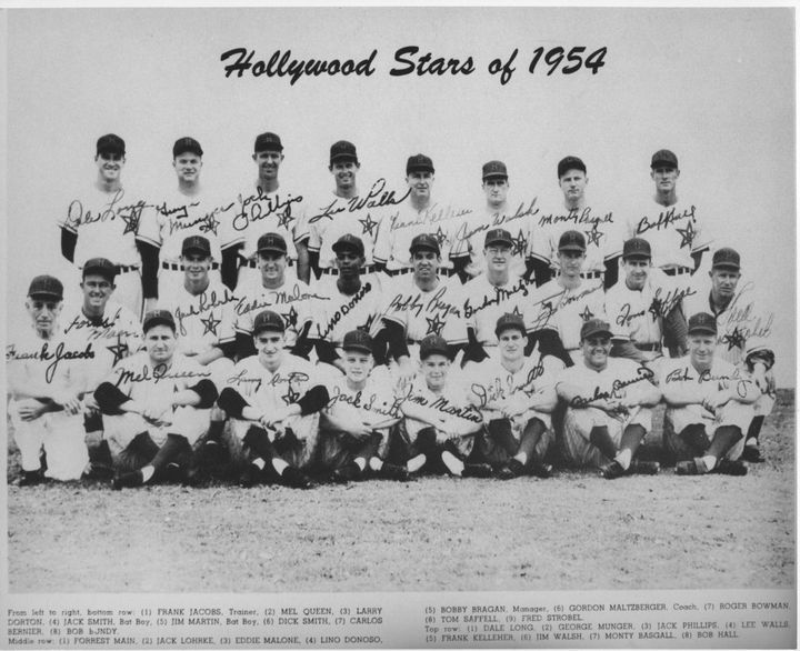 Hollywood Stars Baseball Team