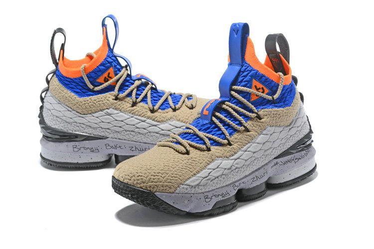 dc1f589ea9f Nike LeBron XV EP 15 Watch ACG Mens Original Basketball Shoes Royal Blue  Grey Black