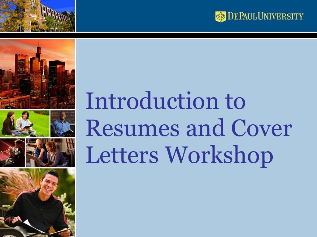 resume-and-cover-letters-workshop-presentation by Abrazil via ...