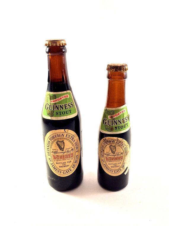 Guinness Extra Washed Vintage Label Hat Black