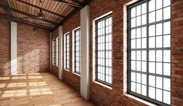 Metallsprossen fenster pinterest fenster sprossenfenster und loft - Sprossenfenster alt ...