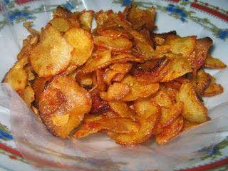 Resep Keripik Cabai Food Snacks Crispy