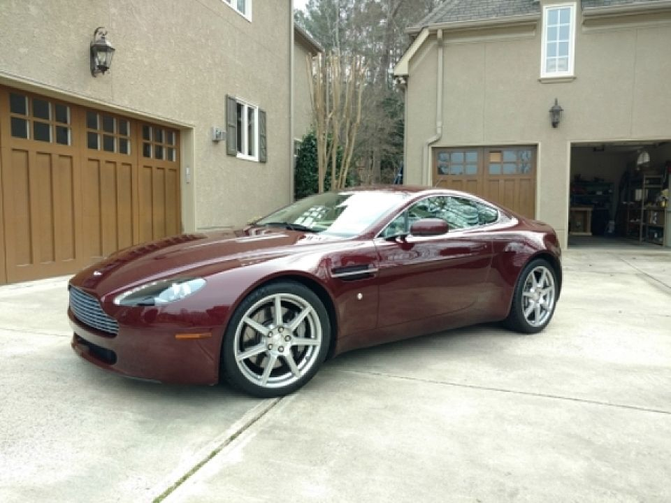 2007 Aston Martin V8 Vantage Coupe For Sale 100745886 Aston Martin Aston Martin V8 Ford Convertible