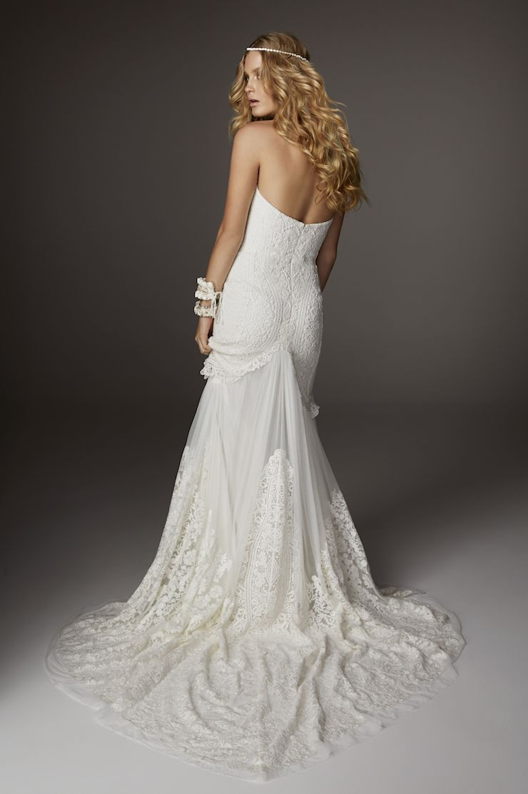 Wedding Dress with Arrow