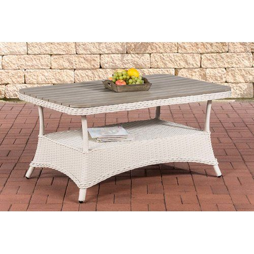 Sol 72 Outdoor Ramelot Rattan Bistro Table Round Outdoor Dining