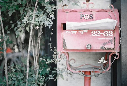 a pretty way to receive your mail