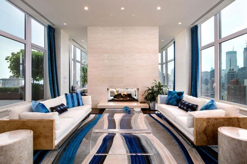 Trendfarben wohnzimmer ~ Ideen für wohnzimmer frischekick mit farben living rooms
