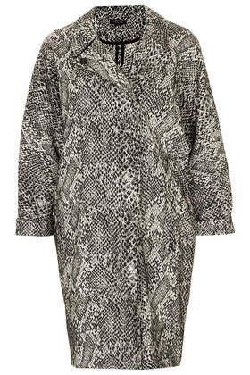 b9c6d6c05280 Snakeskin print duster coat from Topshop.com   Coats & jackets ...
