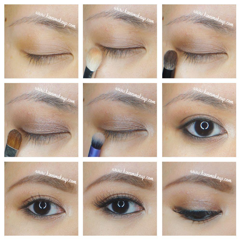 Simple everyday makeup using smashbox full exposure makeup ...