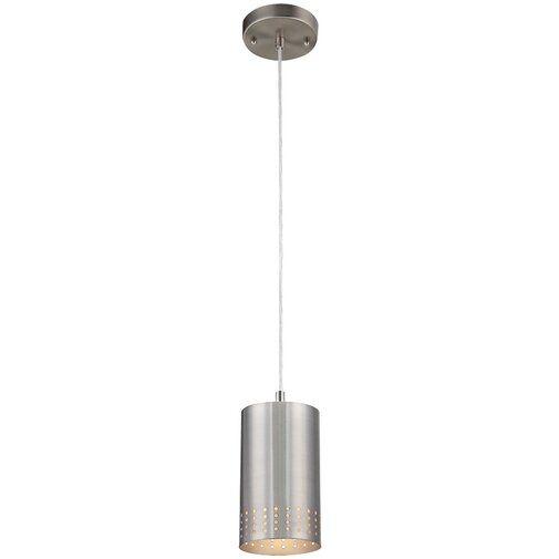 Chartier 1-Light Cylinder Pendant