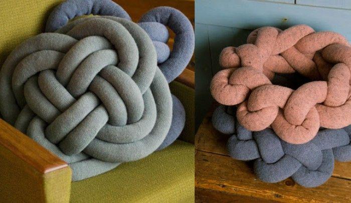 Zelf Kussen Maken : Gebreide knoop kussen zelf maken google zoeken knots pillows