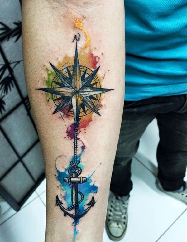 ca469f965 100 Watercolor Tattoos that Perfectly Replicate the Medium | it is ...